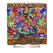 Highway Of Emotions Shower Curtain