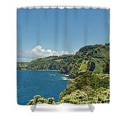 Highway To Heaven Hana Highway Maui Hawaii Shower Curtain