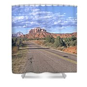 Highway To Sedona Shower Curtain