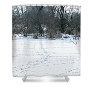 Highways And Byways Shower Curtain