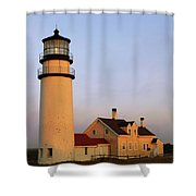 Higland Lighthouse Cape Cod Shower Curtain
