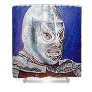 Hijo Del Santo Shower Curtain