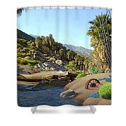 Hiking The Canyons Shower Curtain
