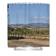 Hiking Trail To Peters Canyon Shower Curtain