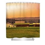Hill City Scenic View, South Dakota Shower Curtain