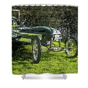 Hill Climb Car Shower Curtain