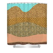 Hill Country No2 Shower Curtain