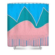 Hill Country No.3 Shower Curtain