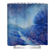 Hill Country Storm, No. 1 Shower Curtain