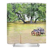 hill country Texas  Shower Curtain