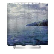 Hill In The Distance Shower Curtain