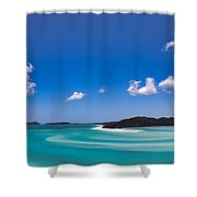 Hill Inlet Shower Curtain