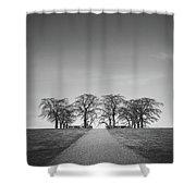 Hill Of Elm Shower Curtain