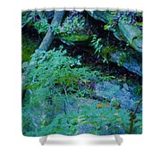 Hill Side Shower Curtain