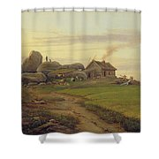 Hill Top Shower Curtain