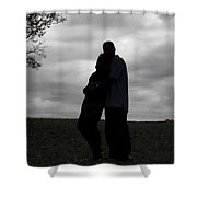Hill Top Love Shower Curtain