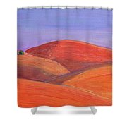 Hill Tops Shower Curtain