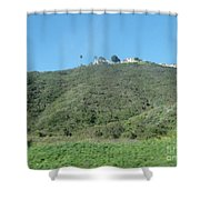 Hill With A House Shower Curtain