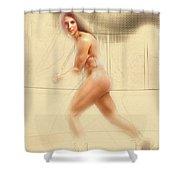 Hillary Knight #2 Shower Curtain