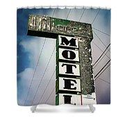 Hillcrest Motel Shower Curtain
