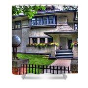 Hills-decaro House Shower Curtain