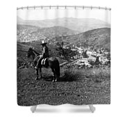 Hills Of Guanajuato - Mexico - C 1911 Shower Curtain