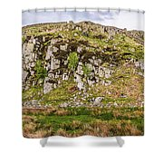 Hills Of Hadrians Wall England Shower Curtain