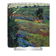 Hills Of Joy Shower Curtain