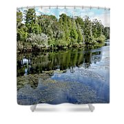 Hillsborough River 7 Shower Curtain