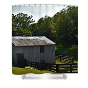 Hillside Farm  Shower Curtain