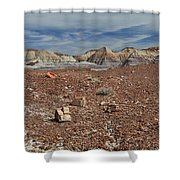 Hillside Hues Shower Curtain