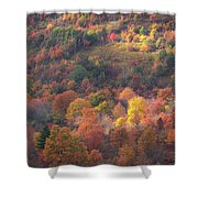 Hillside Rhythm Of Autumn Shower Curtain