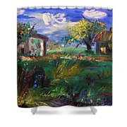 Hillside Tranquility Shower Curtain