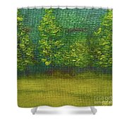 The Lakeside  Shower Curtain