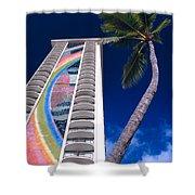 Hilton Hawaiian Village Shower Curtain