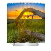 Hilton Head Island Sunrise Shower Curtain