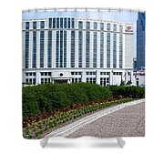 Hilton Nashville Tennessee Shower Curtain