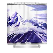 Himalaya Shower Curtain