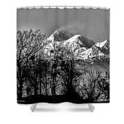 Himalaya ...the Trishul Peak Shower Curtain