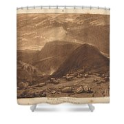 Hind Head Hill Shower Curtain