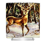 Hinds Feet Shower Curtain