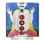 Hindu Chakras Wheels Shower Curtain