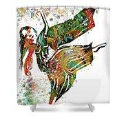 Hindu Dancer Shower Curtain