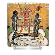 Hindu Goddess: Kali Shower Curtain