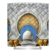 Hindu Temple Shower Curtain