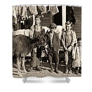 Hine: Child Labor, 1908 Shower Curtain