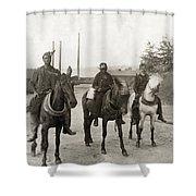 Hine: Coal Miners, 1908 Shower Curtain