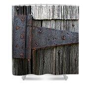 Hinge Shower Curtain