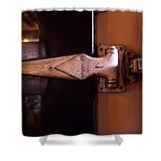 Hinge Shower Curtain
