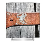 Hinge Shower Curtain by Todd Blanchard